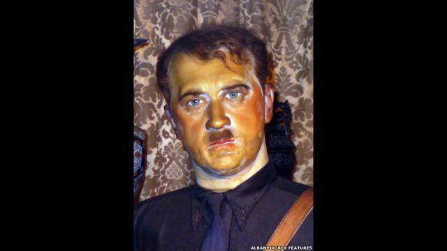 Figura de cera de Adolfo Hitler, Museo Casa de la Cera Louis Tussauds, Great Yarmouth, Inglaterra
