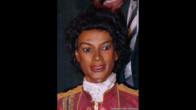 Figura de cera de Michael Jackson, Museo Casa de la Cera Louis Tussauds, Great Yarmouth, Inglaterra