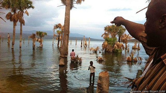 Lago Azuei, Haiti