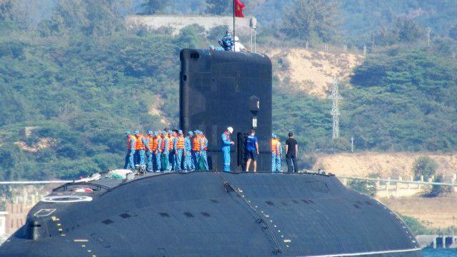 Hải quân Việt Nam đã nhận nhiều tàu ngầm lớp Kilo từ Nga trong thời gian gần đây