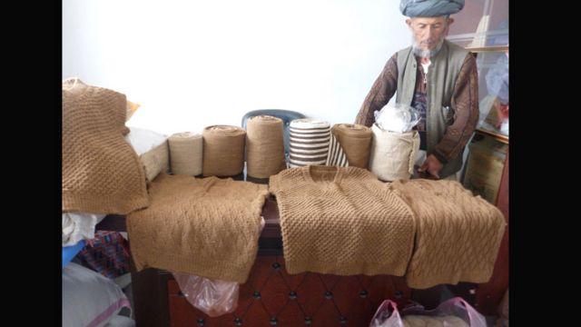 محصولات تهیه شرکت کشمیره پامیر بدخشان، در بازارهای جهانی به فروش میرسد