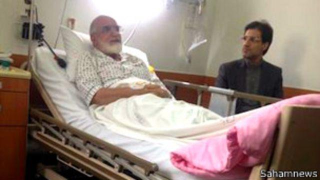 گفته شده که آقای کروبی در کنار مشکلات داخلی و گوارشی و درد زانو، مبتلا به بیماری زونا شده است (عکس آرشیوی است)