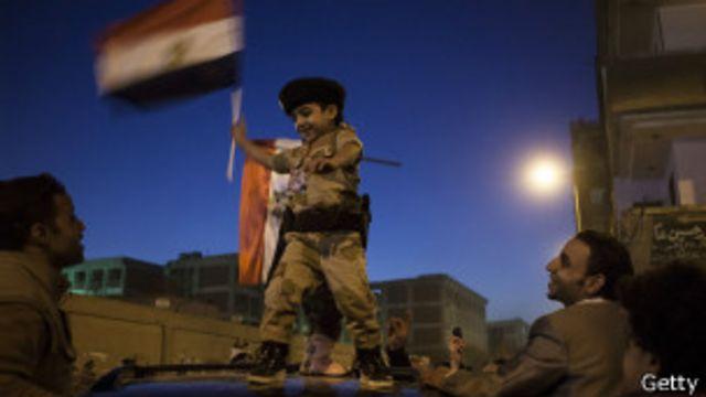 Partidarios de Al Sisi