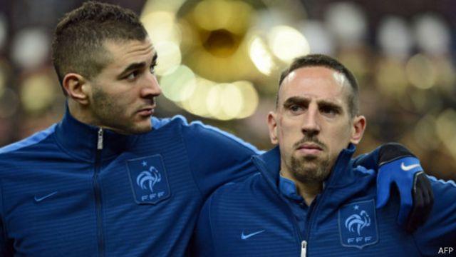 Benzema dan Ribery
