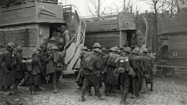 Британские солдаты