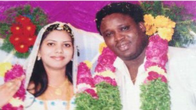 Sheeba Rani a été rejetée par un certain nombre de ses amis et de ses proches après son mariage avec Sambo Davis, un ressortissant nigérian établi en Inde.