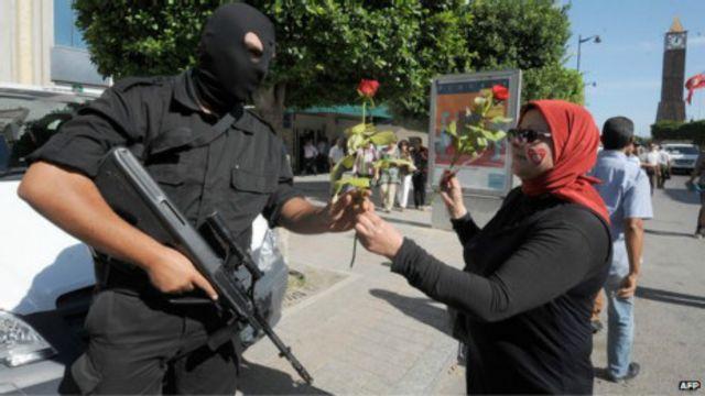 زنان تونس در مبارزات سیاسی سابقه طولانی دارند