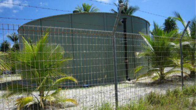 Tanque en Kiribati