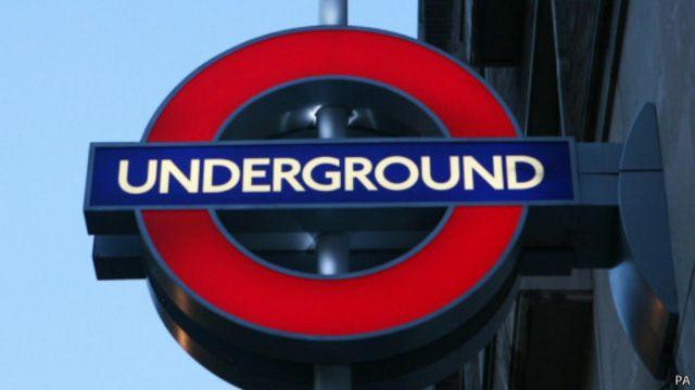 Эмблема лондонского метро