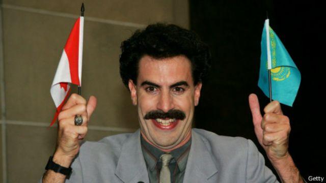 Актер Саша Барон Коэн на премьера фильма о Борате в Торонто