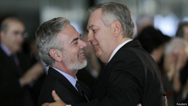 Patriota e Figueiredo | Foto: Reuters