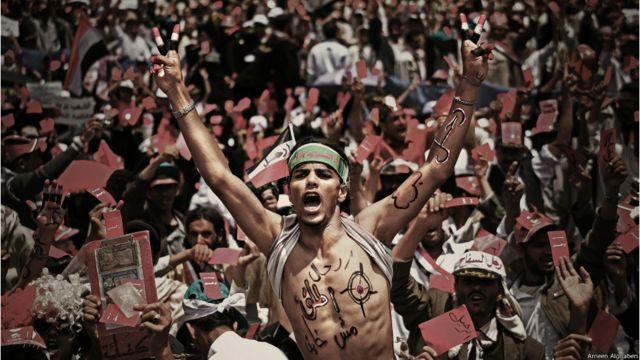 تقارير هيومن رايتس ووتش وثقت مقتل 270 متظاهراً في الفترة من فبراير حتى ديسمبر 2011 - أمين الغابري