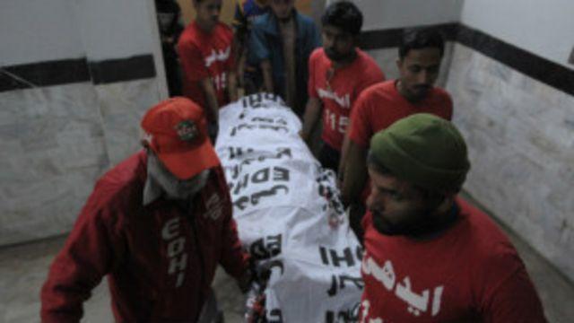 تحریک طالبان پاکستان جماعت الحرار نے کہا ہے کہ مرنے والے افراد کا تعلق ان کے گروپ سے ہے