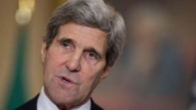 美国国务卿克里称气候变化是最可怕的大规模杀伤性武器。
