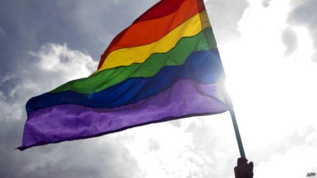 Bandeira gay   Crédito: AFP