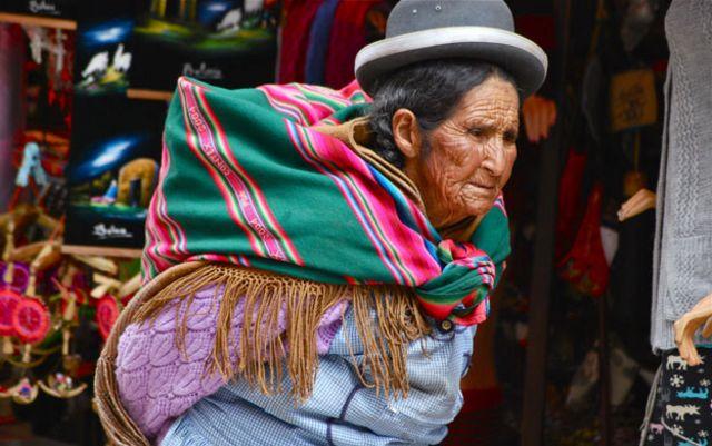 Cholas bolivianas