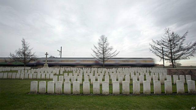 बेल्जियम प्रथम विश्व युद्ध का कब्रिस्तान