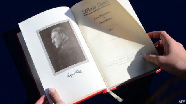 """""""Майн кампф"""" с автографом Гитлера"""