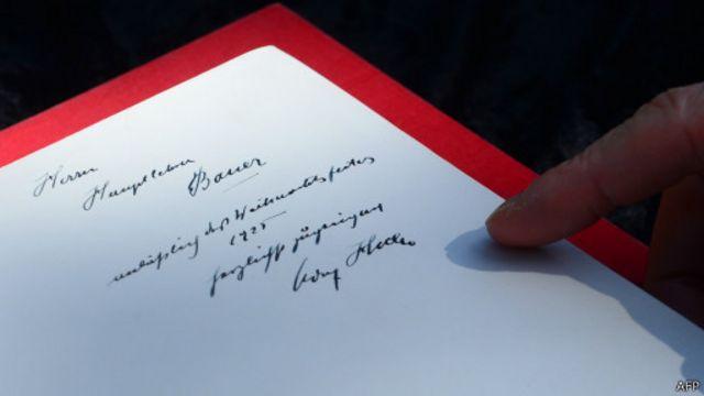 Автограф Гитлера