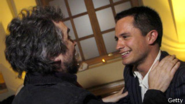 Alfonso Cuarón y Gael García Bernal