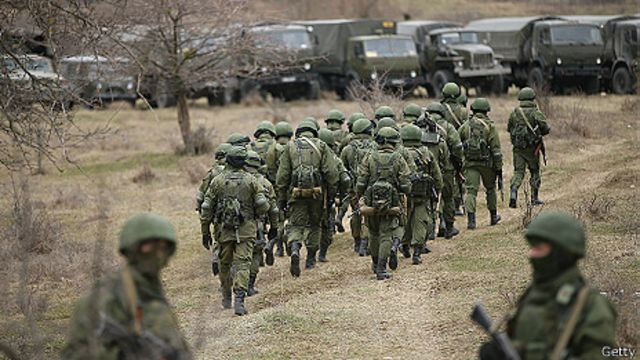 El (des)balance del poder militar entre Rusia y Ucrania - BBC News Mundo