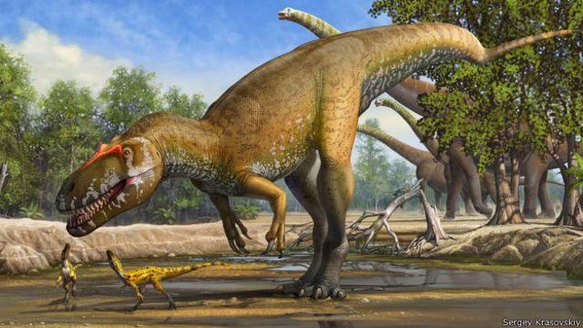 Un Feroz Dinosaurio El Mas Grande Depredador De Europa Bbc News Mundo Menos mal que los humanos ¿cómo? un feroz dinosaurio el mas grande