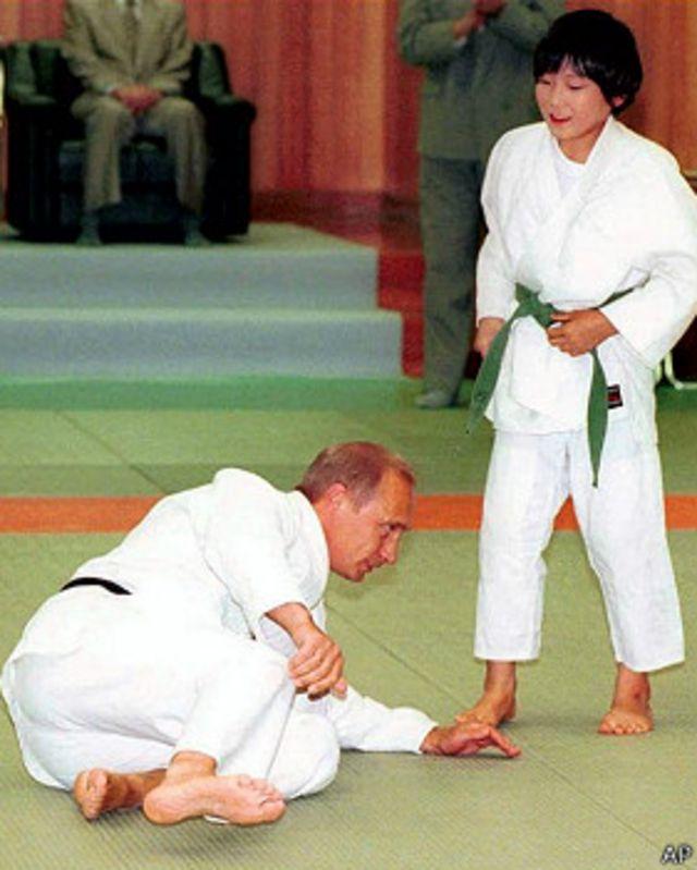 Vladimir Putin en yudo