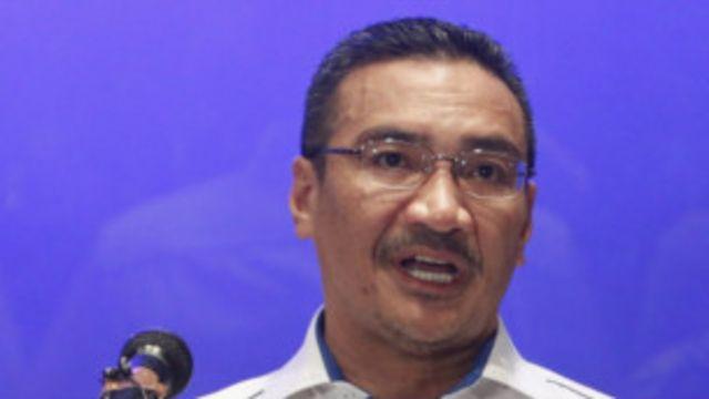ministro dos Transportes da Malásia, Hishammuddin Hussein (Reuters)