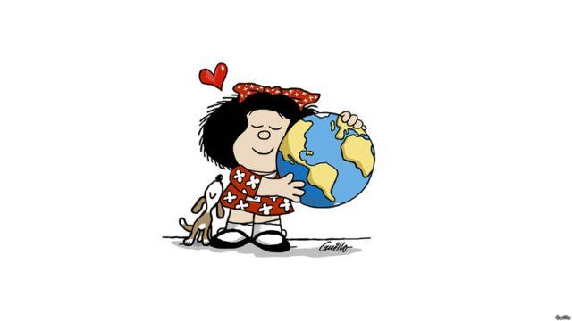 Mafalda, en versión de Guillo