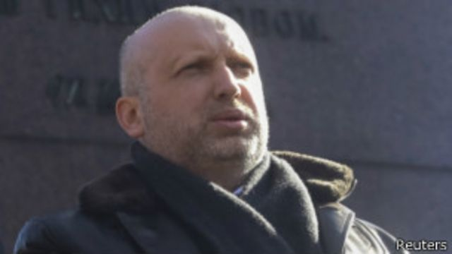 乌克兰代理总统图尔奇诺夫(09/03/2014)