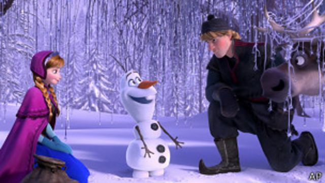 "Escena de ""Frozen"""