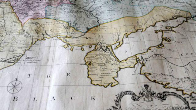 Mapa de 1769