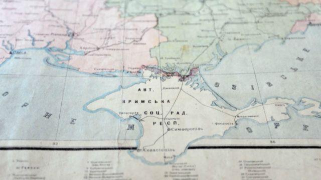 Mapa de 1932