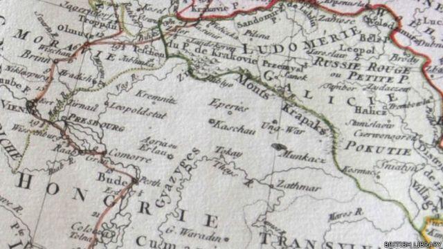 Mapa de 1775