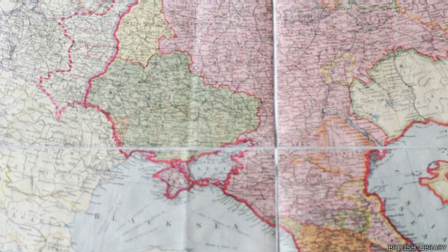 Mapa de 1939
