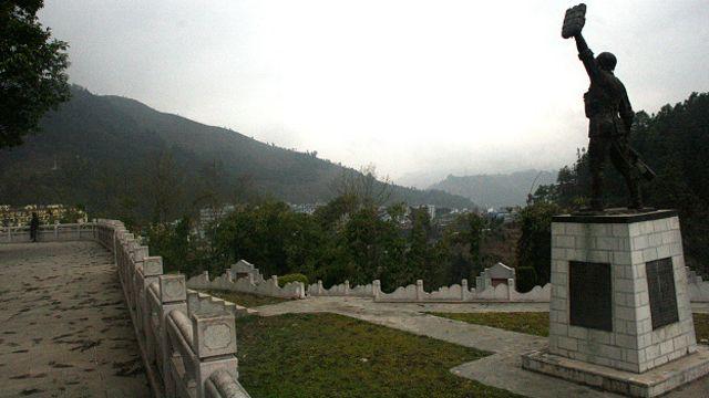 Nghĩa trang quân đội Trung Quốc sau cuộc chiến 1979