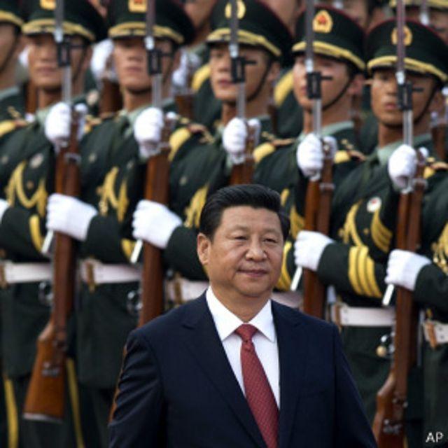 增加国防开支显示了习近平复兴强大中华的梦想。