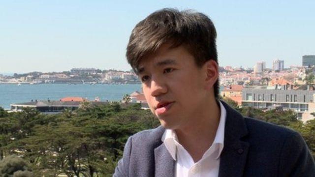 來自香港的布萊恩·唐充當著中介人的角色。