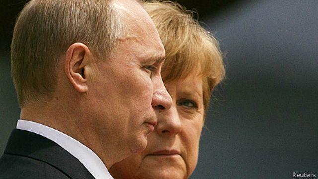 Markel y Putin