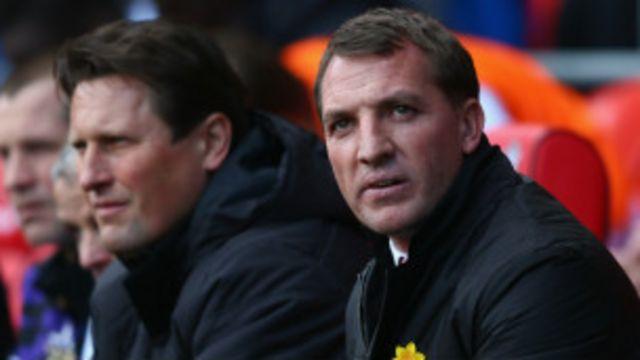 Kocha wa Liverpool Brendan Rodgers