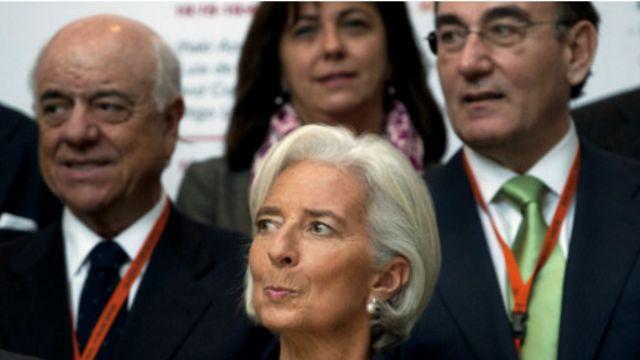 La Directtrice Générale du FMI, Christine Lagarde