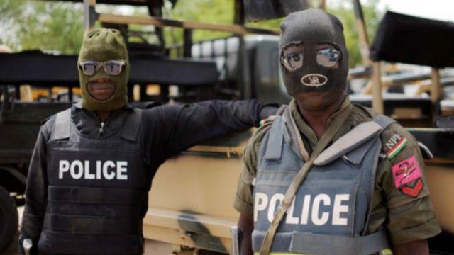 Полиция в Нигерии