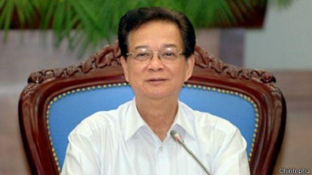 Ông Nguyễn Tấn Dũng chủ trì phiên họp thường kỳ của Chính phủ hôm 1/4