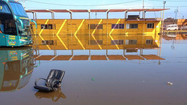 Inundación en Iquique