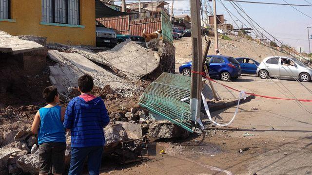 Niños en Iquique
