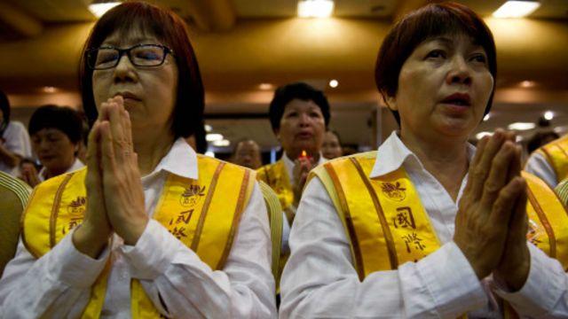 Warga mendoakan MH370