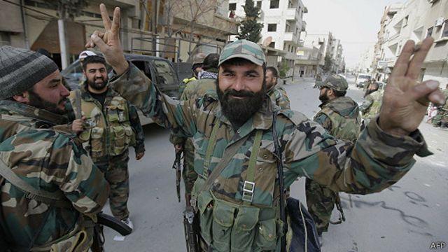 أحرزت القوات الحكومية انتصارات بمنطقة القلمون خلال الأسابيع الماضية