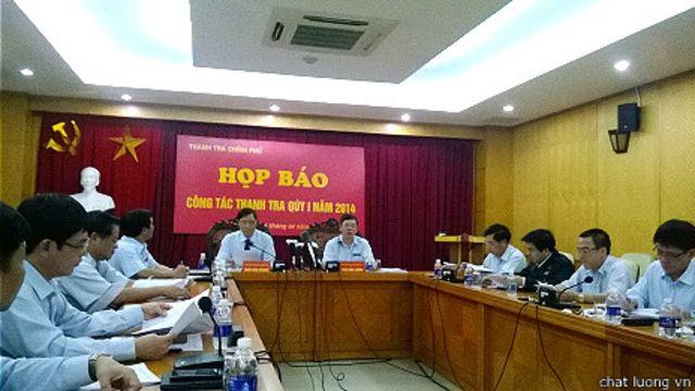 Họp báo của Thanh cha Chính phủ quý I/2014