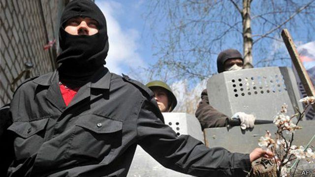 Combatientes pro rusos