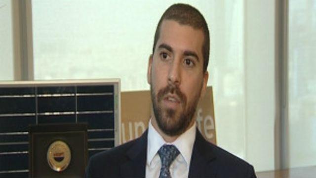 ألكسندر أليجي نائب رئيس شركة صن آند لايف.